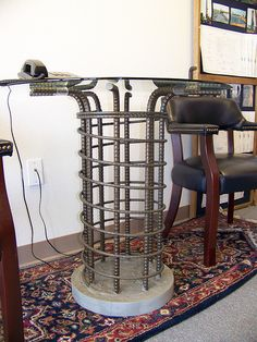 Rebar table | Flickr - Photo Sharing!