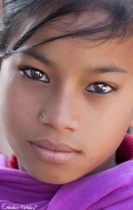 Brown eyed beauty...  photo: Erwan Grey