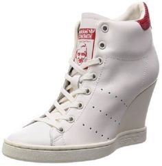 9965e252d1d69b Adidas Originals Stan Smith Up Womens Wedge Trainers Shoes UK Size 7 EUR  40.5