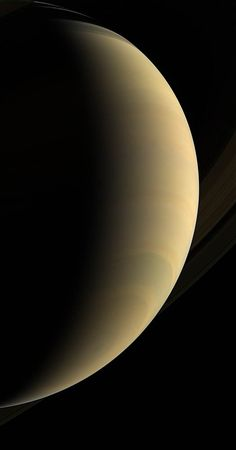 Magnificent Vista Cassini coasts beneath giant Saturn, staring upward at its gleaming crescent and icy rings Ios 11 Wallpaper, Planets Wallpaper, Venus, Saturn Planet, Planets And Moons, Mars, Gas Giant, Picture Story, Wallpapers
