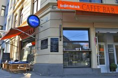 Great Coffee Bar in Cologne / Köln-Südstadt, Ubierring. Busy place, great coffee, meet locals Street View, City