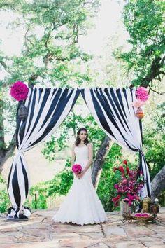 we ❤ this!  moncheribridals.com #weddingarch #weddingceremonybackdrop by dianne