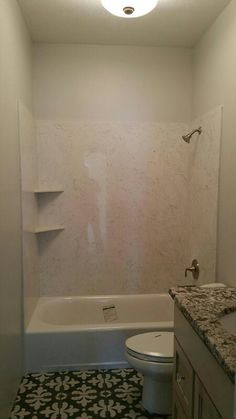 Shower by R & S marble Cultured Marble Shower, Marble Showers, Tub Surround, Bathtub, Spaces, Bathroom, House, Ideas, Standing Bath