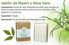 Jabon de Neem y Aloe Vera