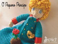 erika.tricroche: O Pequeno Príncipe  Le petit Prince in Crochet ❤