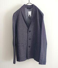 tsuki.s ショールカラーハニカムジャケット http://floraison.shop-pro.jp/?pid=72860785