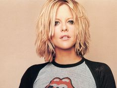 Meg Ryan... I love this hair!!!! I may need to update my hair cut and color next month