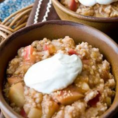 One of our favorite recipes: Apple Oatmeal Recipe