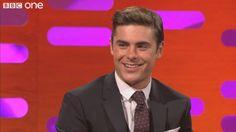 Zac on The Graham Norton Show taped April 23, 2012