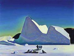 cover painting of airplane colors  rockwell kent
