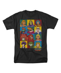 Look at this Black 'Masters of the Universe' Tee - Adult on #zulily today!