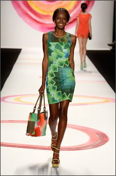 "Desigual New York has inaugurated yesterday the ""fashion month"" of the Women's Collections Spring/Summer 2014"
