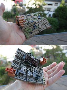Zombie Apocalypse Weapons, Lego Men, Lego Halloween, Lego Modular, Lego Castle, Cool Lego Creations, Lego Design, Lego Architecture, Lego Projects