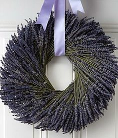 Love and Lavender Wreath - Preserved