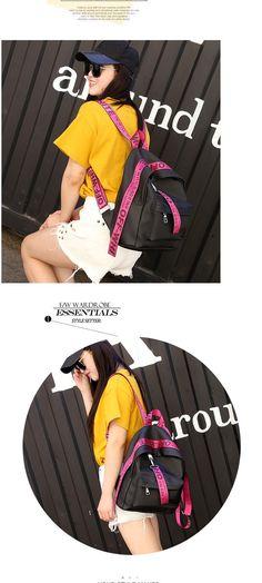 fcfbfa6e7015 2017 Women Backpacks nylon Backpack Female Trendy backpack Designer School  Bags Teenagers Girls Travel Mochilas –