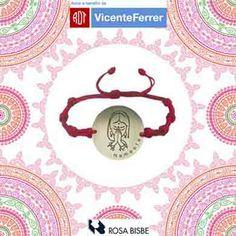 Es para nosotros una gran ilusión volver a colaborar para la Fundación Vicente Ferrer con estas pulseras solidarias. #vicenteferrer #rosabisbe Plates, Tableware, Illusions, Products, Bangle Bracelets, Jewels, Licence Plates, Dishes, Dinnerware