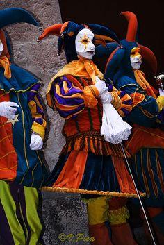 Carnaval em Pisa, Itália.