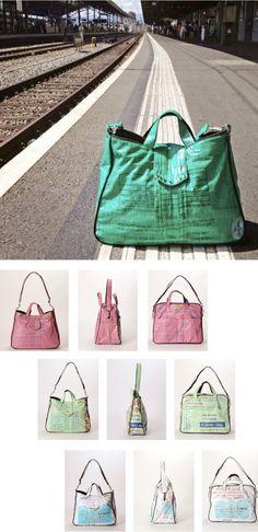 Travel light by coll.part...  Mit den Taschen Dublin oder Bilbao aus der Collection Escapades. Bilbao, Dublin, Gym Bag, Bags, Fashion, Taschen, Handbags, Moda, Fashion Styles