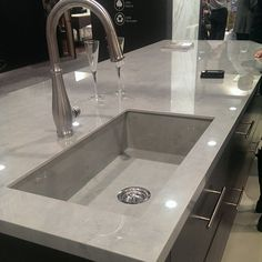Another beautiful #kitchen #countertop done with Beton in Polished finish! Visit us in #KBIS2015, Booth N-1343 (Las Vegas).