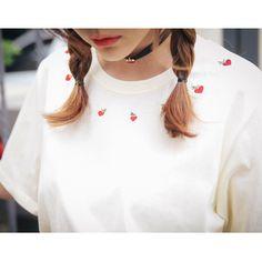 apple T (t768) - 韓国ファッション通販【 GIRLS RULE ガールズルール】