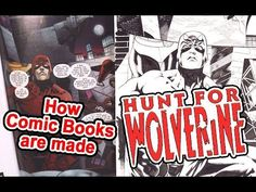 Watch my new Video! How Comic Book are Made: HUNT FOR WOLVERINE https://youtu.be/sK0UhuBt3qE Please Like, Share, and SUBSCRIBE to my YT Channel!