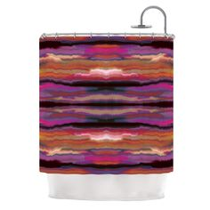 Sola Color by Nina May Shower Curtain