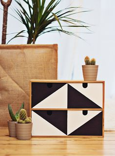 the geometric organizer.