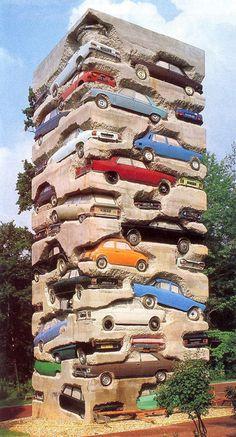 permanent car park