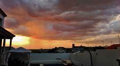 Decidme..... No es un atardecer precioso?  #atardeceres #cielos #nubes