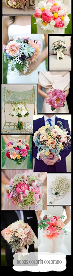 super nice bridal bouquetes - super tolle Brautsträuße