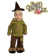 The Wizard of Oz Scarecrow Newborn Baby Costume 0-6M-- Ohhh my kid WILL wear this one day!
