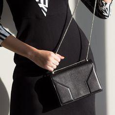 Geometric details #clutch #bag #janisleenewyork #madeinnyc #designer #handbag #handmade #madeinny #fashion #style #design #streetstyle
