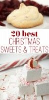 20 Best Christmas Cookies and Candy Ideas These recipes look great and are much different than the regular routine.