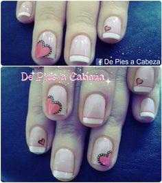 Uñas French Tip Nails, Nail Tips, Nail Art, Daughter, Amor, Hair And Nails, Hair, Perfect Nails, Cute Nails