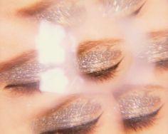 Silver Glitter Eyes shot by Wendy Bevan