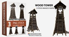Wood tower Classic Lanterns, Free Logo Templates, Multiple Images, Wood Chest, Candle Stand, Old Wood, Photo Manipulation, Free Stock Photos, Free Design