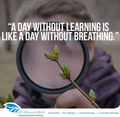 A day without learning is like a day without breathing. #Seoppcguru