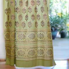 Memories of Shalimar ~ Decorative Asian Green Curtain 63x46 Saffron Marigold,http://www.amazon.com/dp/B0018DD0YQ/ref=cm_sw_r_pi_dp_FRjftb18ATPW8TA5