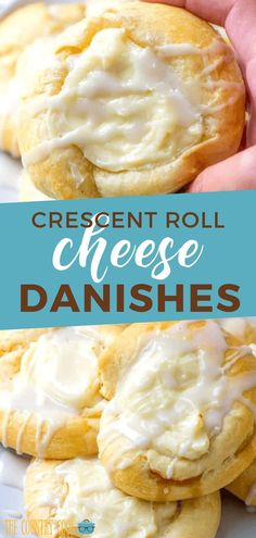 Five Approaches To Economize Transforming Your Kitchen Area Crescent Roll Cheese Danishes Are A Shortcut Version Of Our Favorite Bakery Danishes Simple But Delicious. Pastry Or Breakfast Crescent Roll Recipes, Crescent Roll Cheese Danish Recipe, Crescent Roll Appetizers, Cream Cheese Crescent Rolls, Breakfast Pastries, Breakfast Cheese Danish, Crescent Roll Breakfast Casserole, Breakfast Roll Recipes, Cresent Rolls Breakfast