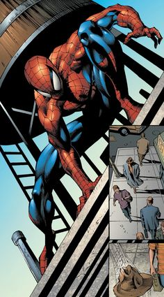 Spiderman by Mike Deodato Jr. Comic Book Artists, Comic Book Characters, Comic Book Heroes, Comic Books, Marvel Characters, Amazing Spiderman, Spiderman Art, Marvel Comics Art, Marvel Heroes