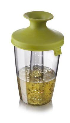 Tomorrow's Kitchen 2833660 Popsome Shaker assaisonnement pour sauce de salade en Plastique Vert 30 x 18 x 18 cm