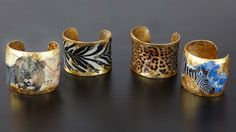 Safari Cuffs Collection.
