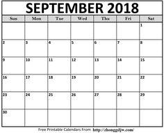 Free Printable Calendar Templates PDF Word Excel - Printable Calendar 2020 with Holidays - Printable Calendar Blank Templates, Editable Calendar & Holidays September Calendar Printable, 2018 Printable Calendar, Free Printable Calendar Templates, Blank Calendar Template, Printables, Pdf, Timeline, Cover, Check