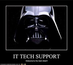 IT Tech Support - not our favourite pick =)