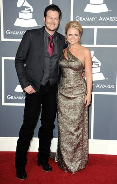 God gave them each other. Blake Shelton and Miranda Lambert trade Oklahoma for Los Angeles at the 53rd GRAMMY Awards in 2011