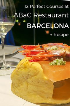 Review of two-Michelin-star ABaC Restaurant and Hotel in Barcelona -- a 2015 TripAdvisor Traveler's Choice winner -- plus an awesome recipe from Chef Jordi Cruz. #TraveltoTaste AD