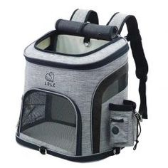 Dog Bag Breathable Dog Backpack Large Capacity Cat Carrying Bag Portable Outdoor Travel Pet Carrier L Puppy Carrier, Pet Carrier Bag, Grand Chat, Cat Backpack, Mesh Backpack, Travel Backpack, Pet Bag, Cat Dog, Dog Store