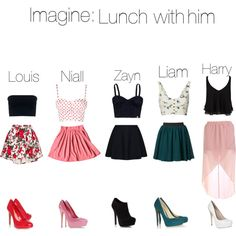 """Imagine: Lunch With Him"" by mustachecastache98 on Polyvore"