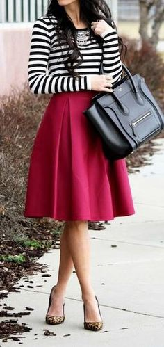 Color combo and skirt shape