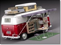 RETRO FOOD TRUCK, CITROEN HY, VW T1